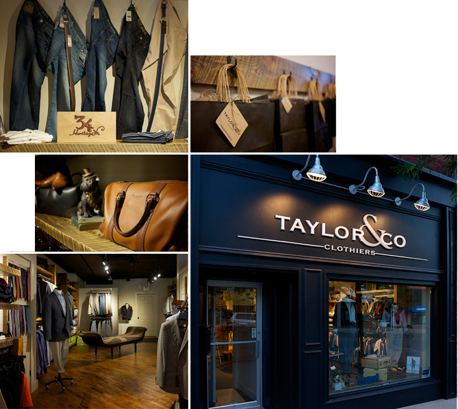Taylor and company men's fashion downtown midland
